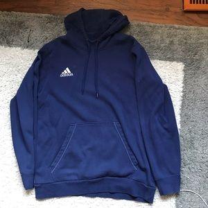 Blue Adidas Hoodie